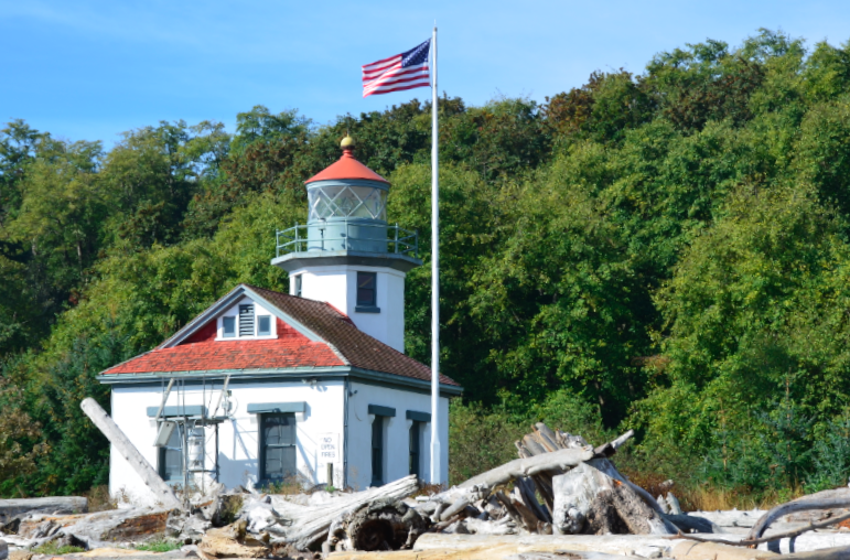 The Lighthouse at Point Robinson Park