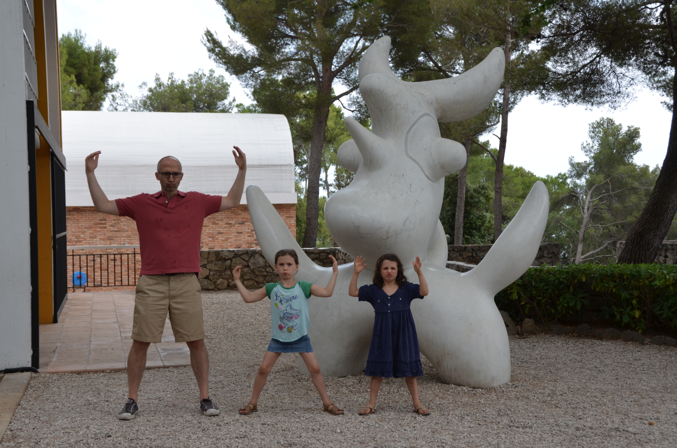 Being silly at the Maeght Foundation