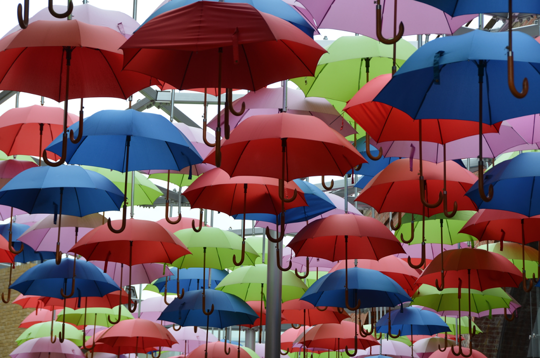 London umbrellas