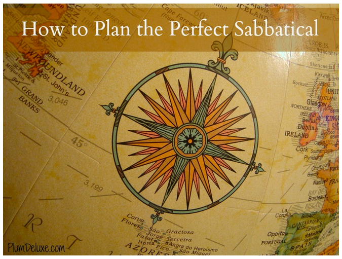 sabbatical planning and visa requirements