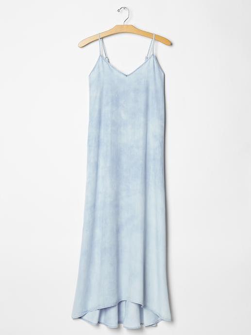 Super Soft Denim Maxi Dress