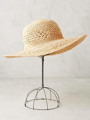 Floppy sun hat.