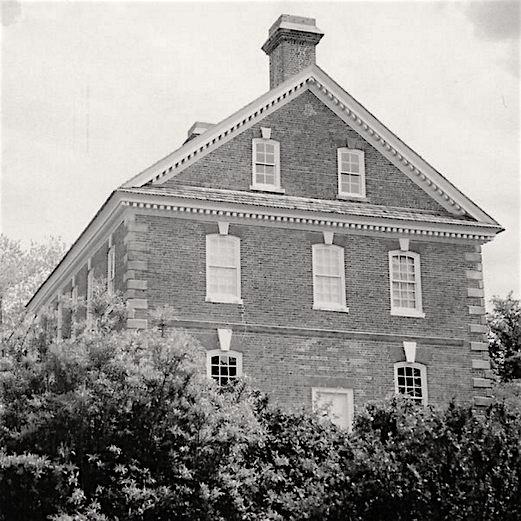 The Nelson House in Yorktown, Virginia