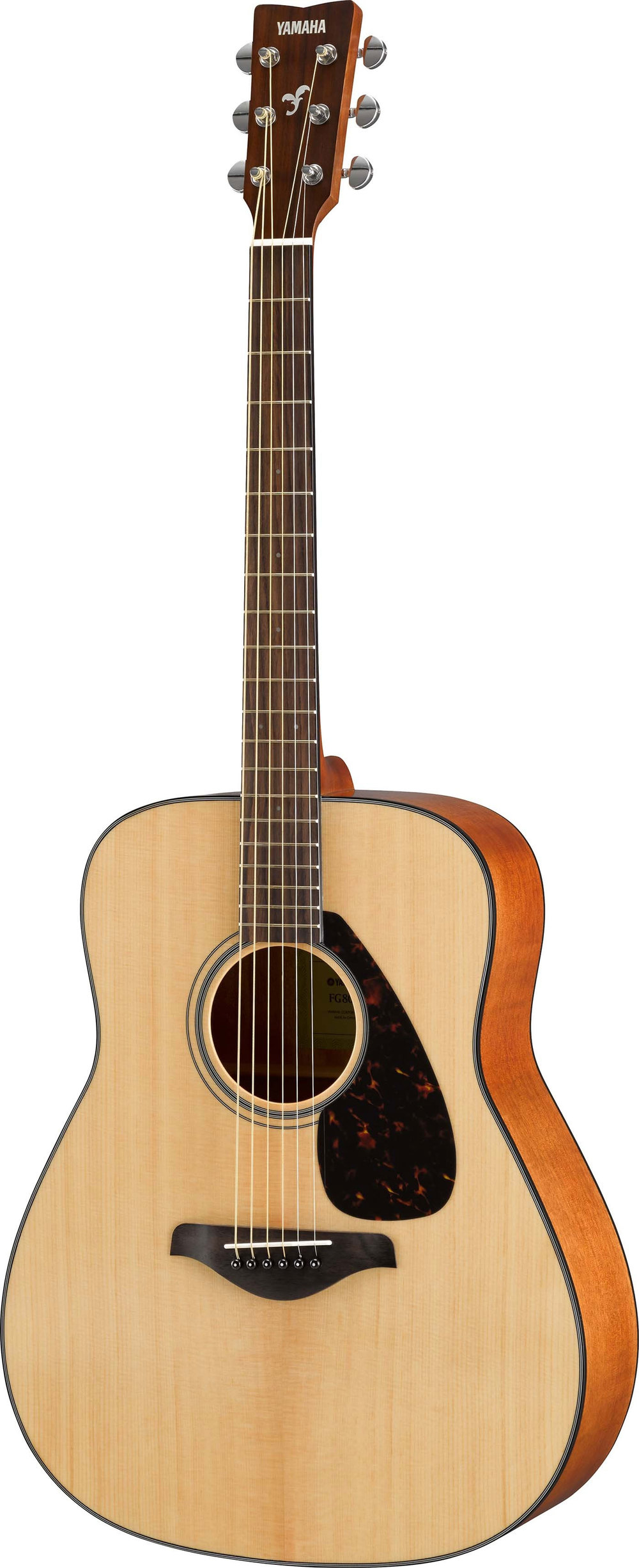 FG800 and FS800  $199.99 - The YAMAHA FG/FS 800 SeriesWhen it was introduced in 1966, the Yamaha FG proved that a great acoustic guitar didn't need to cost a fortune. With a focus on great playability, musical tone and outstanding build quality, the original FG180 quickly became a classic with countless careers and hit records starting life on an FG. 50 years since the introduction of the FG acoustics, the new range features the best-ever FG tone and the same great playability and class-leading quality that's made it the choice of millions of guitarists.The 800 Series has a louder and stronger sound in the low to mid-ranges, thanks to cutting-edge acoustic analysis technology developed by the Yamaha R&D Division. Yamaha's engineers have achieved this sound by utilizing analysis and simulation to arrive at the best bracing design without depending on tradition.