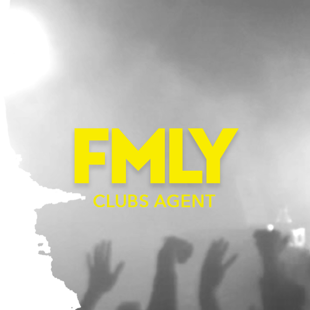 FMLY AGENCY    http://fmly.agency   Worldwide Bookings Joanna Miles:  Joanna@fmly.agency  FMLY Agency is home to a wide variety of DJ's and live artists, as well as providing programming services to some of the world's best home-grown and international music festivals