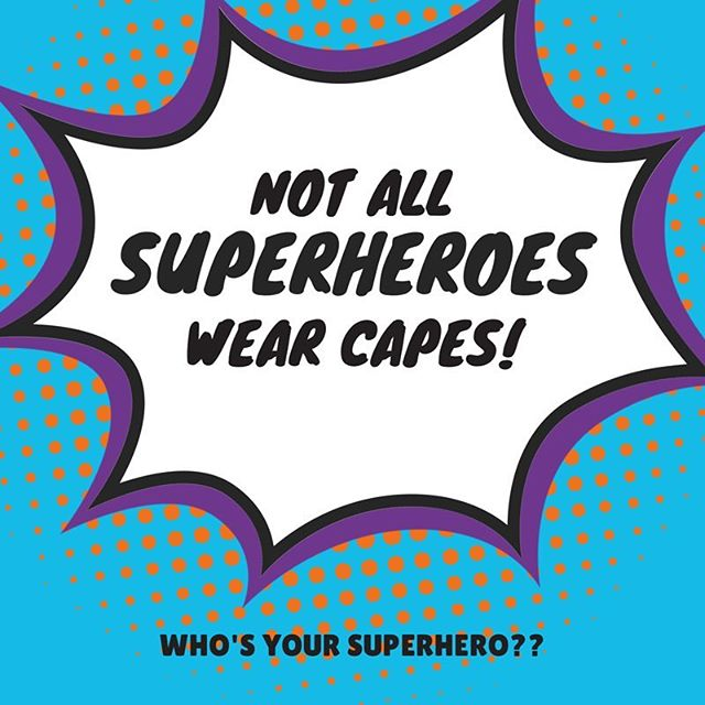 Nor do they all wear their pants on top of tights! We know quite a few secret Superhero's.  Who's yours? #cancerfighter #kickcancersass #superheroes #notallheroeswearcapes #strongpeople #everyonefights