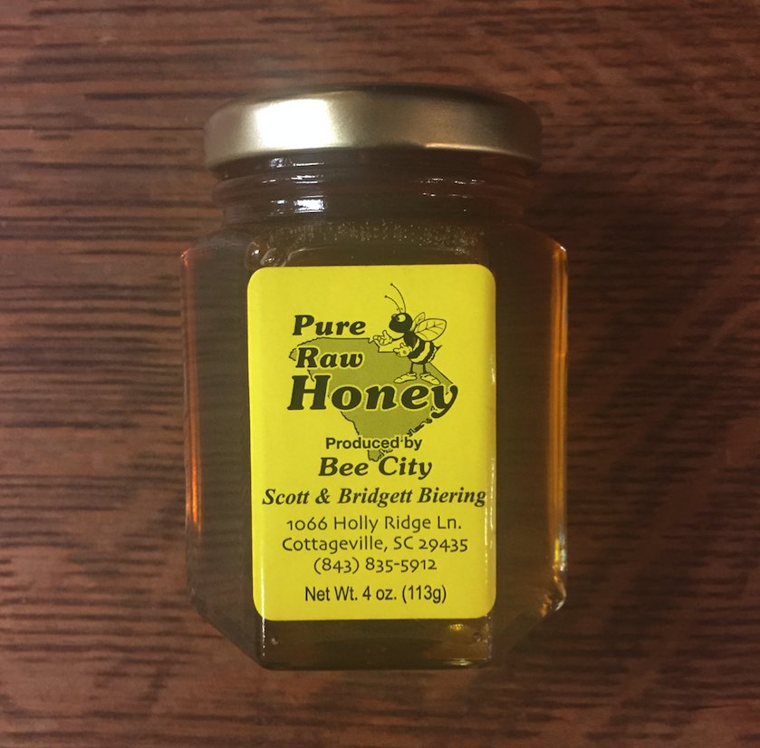 Pure Raw Honey 4oz
