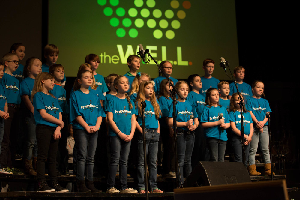 KiDZ Choirs - The goal of KiDZ Choirs is to raise up a new generation of life-long worshipers. Worship is the thing that we will do forever! Through interactive worship experiences, we challenge our choirs to grow spiritually while developing lifelong worship and discipleship values.