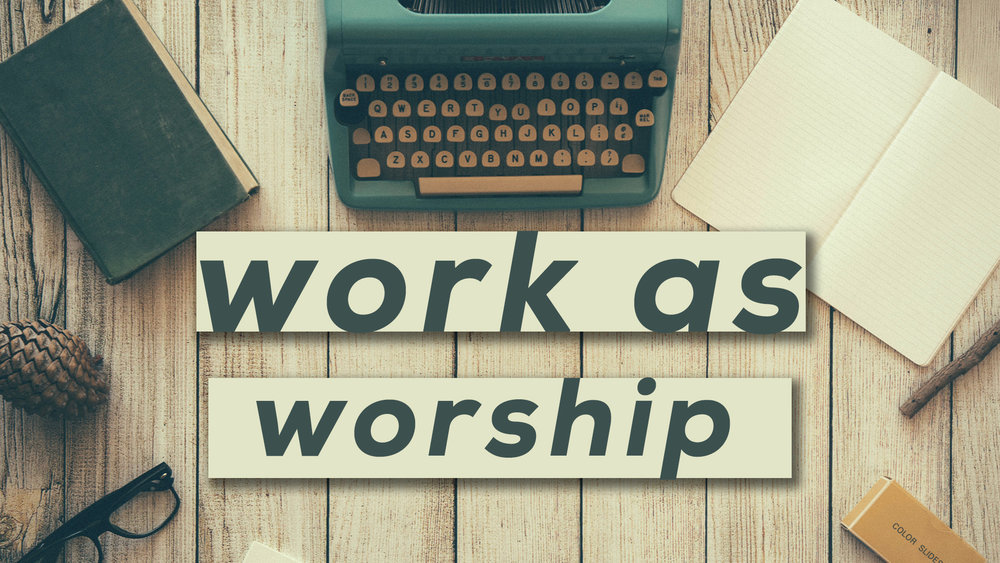 Work as Worship Conference: - Find out how to work as unto the Lord by going to this conference on February 23rd at 830am. The cost of the conference is $25. It will take place in the loft and last until approximately 330pm.