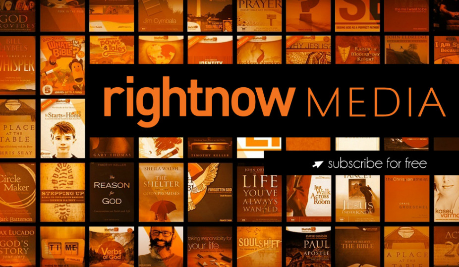 Rightnow Media - RightNow Media has over 15,000 Bible studies videos for small groups, families, students, leadership development, and much more.