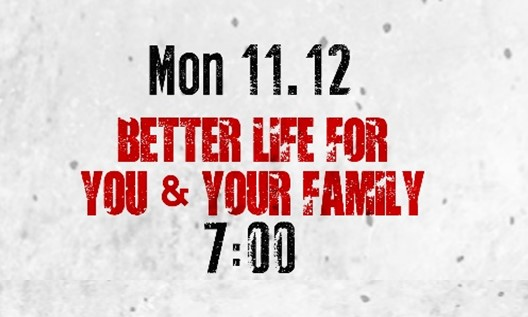 Monday, November 12 - Monday night will be geared for families with younger kids and will feature food, games, bounce houses, and prizes beginning at 6:00pm prior to our 7:00 service.