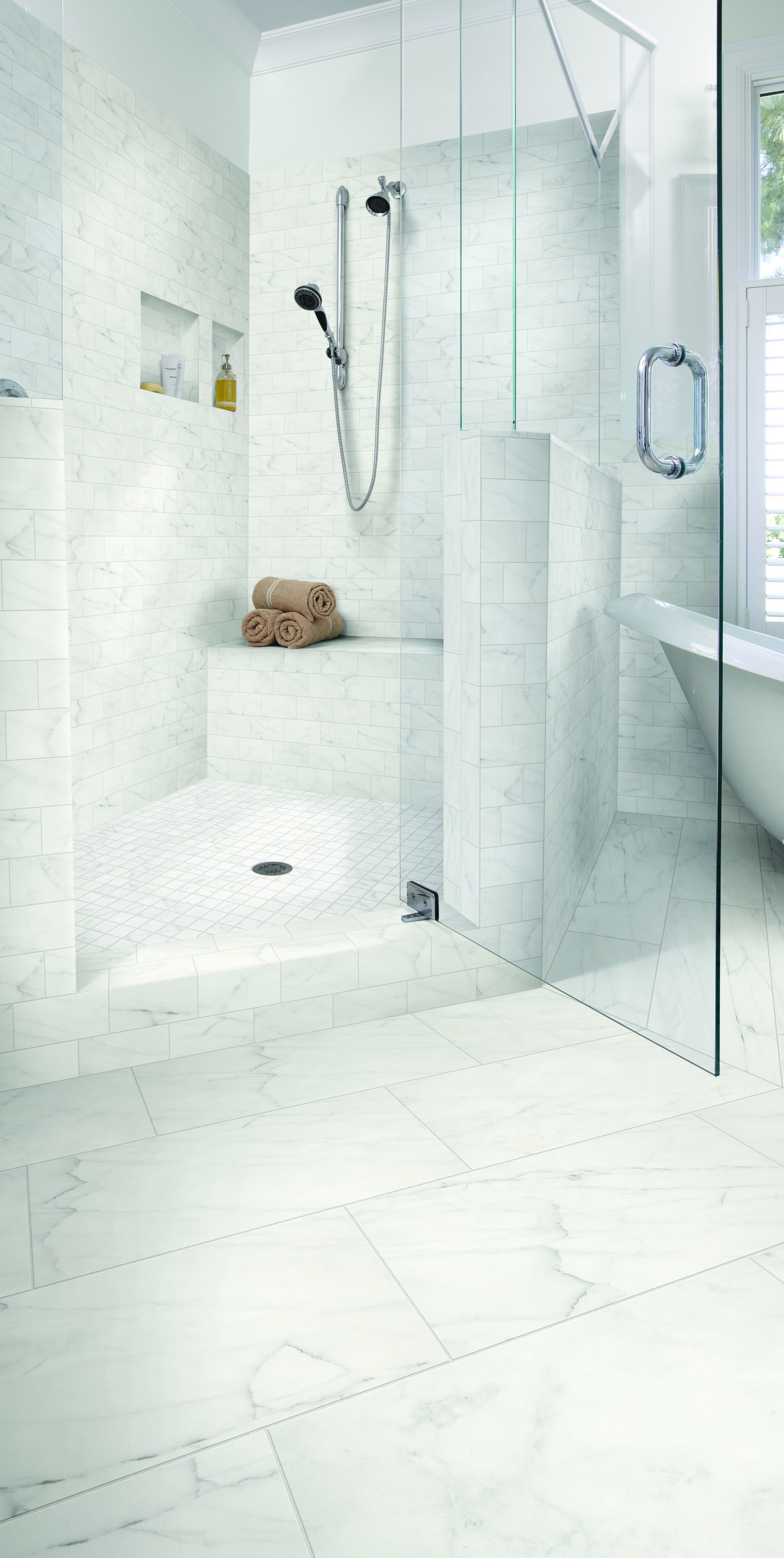 Tiled Shower Visions - Schlüter Systems — Days Flooring Company