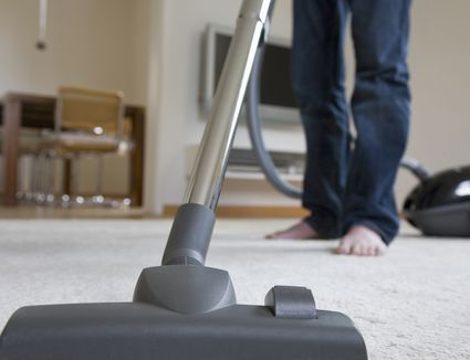 Vacuuming-Carpet