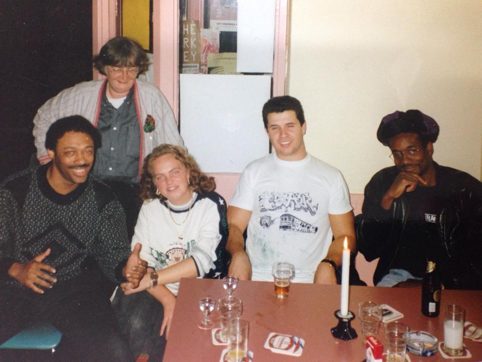 Groningen 1992.   Blade  - Froukje Hoekstra  Mickey - Sar -  Kool Koor