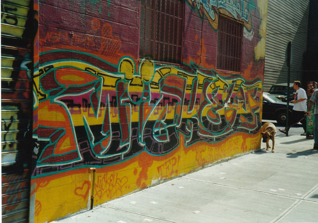 Williamsburg Brooklyn 1995.