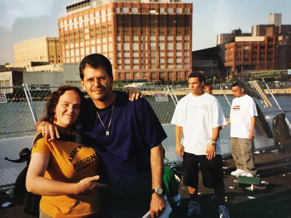 NYC 2001.  La Rock &  PartOne