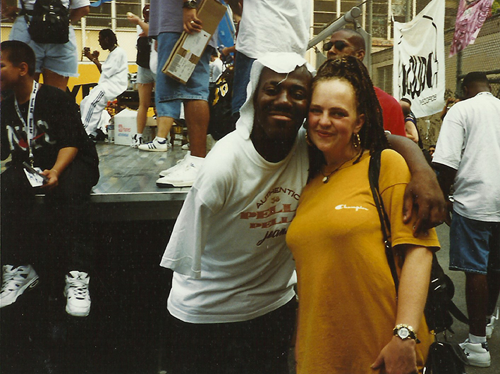 NYC 1995   King Kase2  - Mickey  Kase2 (1958-2011). My friend and TFP crew's president .