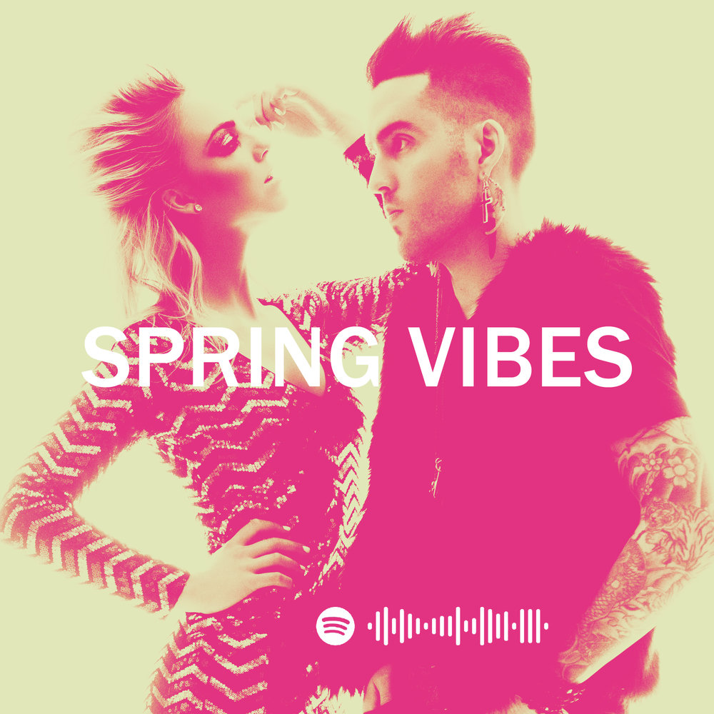 A playlist to get your Spring going!