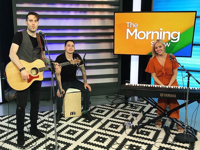 Good Morning! We are here at The Morning Show ready to play this new song for you. Be sure to tune in!