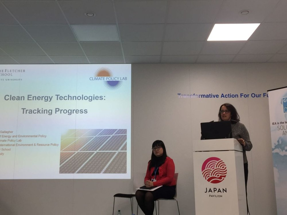 I spoke at an International Energy Agency side event on  Clean Energy Technologies: Tracking Progress and the Role of Digitalization , where I presented on our findings of global investments in clean energy RD&D based on work led by CPL fellow Zdenka Myslikova.