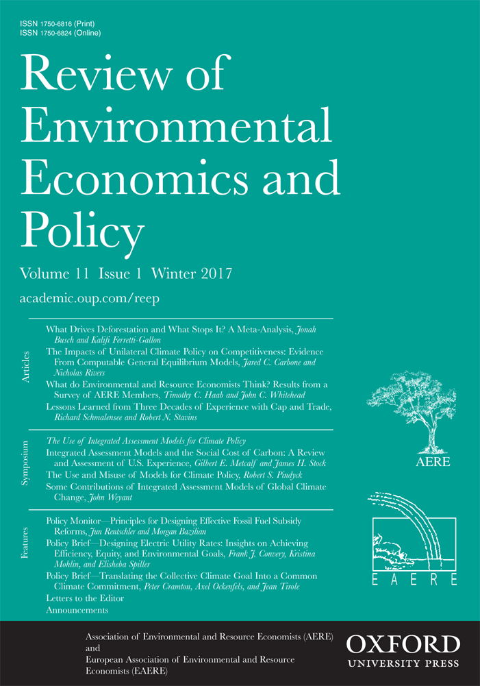 Integrated Assessment Models and the Social Cost of Carbon: A Review and Assessment of U.S. Experience