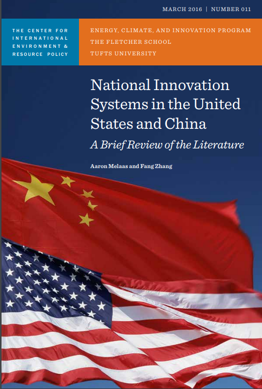 National Innovation Systems in the United States and China A Brief Review of the Literature