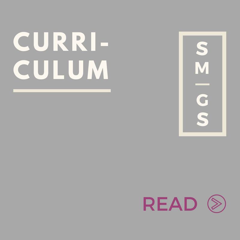 SMGS Blarney curriculum menu