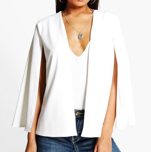 Neve Tailored Cape blazer