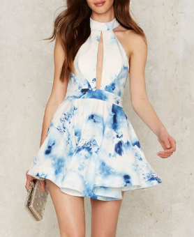 Shanghai Cut Out Dress - White
