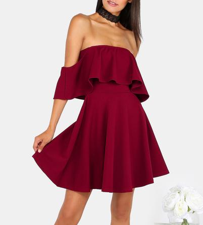 maroon make me chic dress.PNG