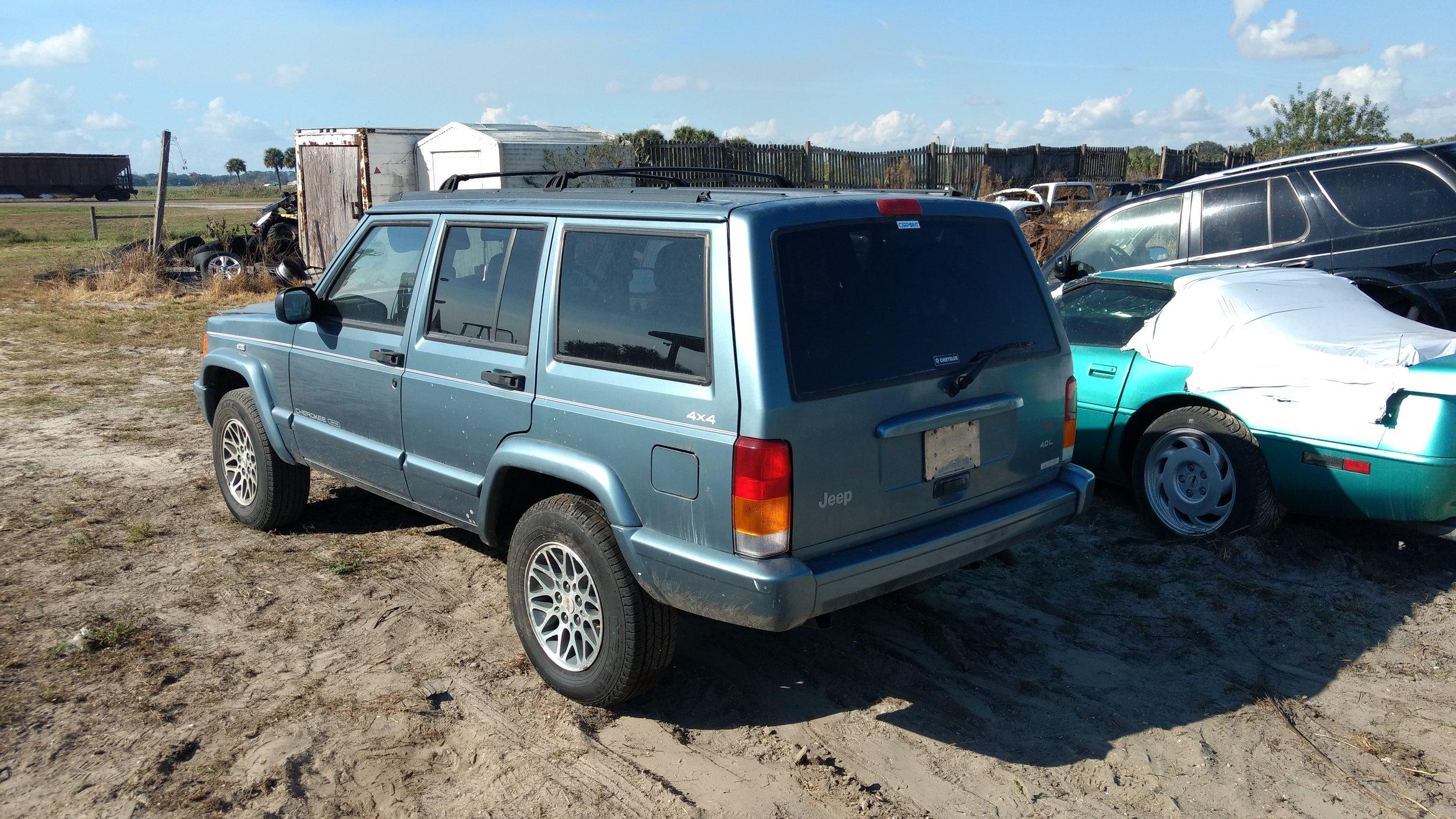1997 Jeep Cherokee (Right Hand Drive)