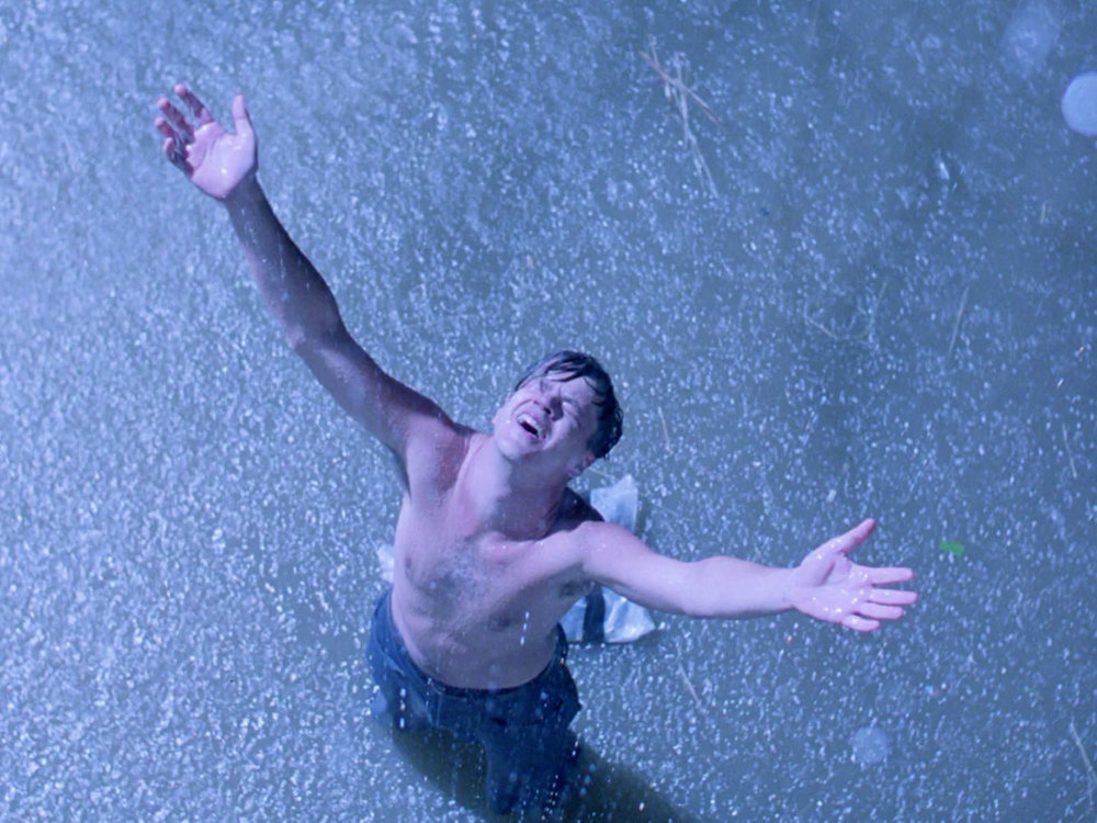 I didnt even need to crawl through a poop sewer like that guy from Shawshank Redemption.