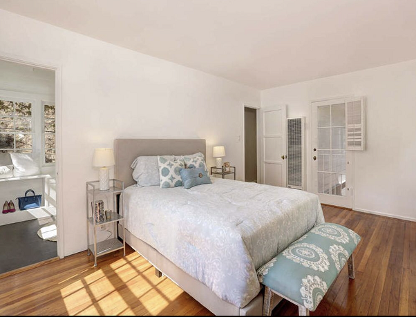 Styled Master Bedroom
