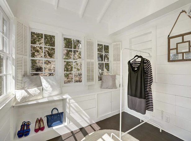 After Staged Walk-in Closet