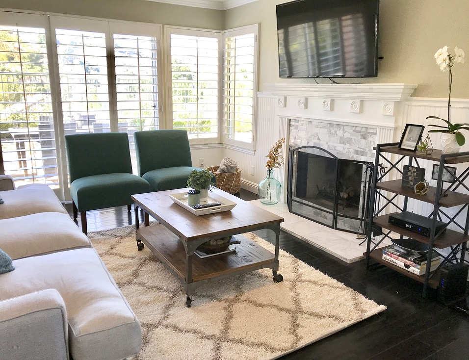 After Styled Family Room