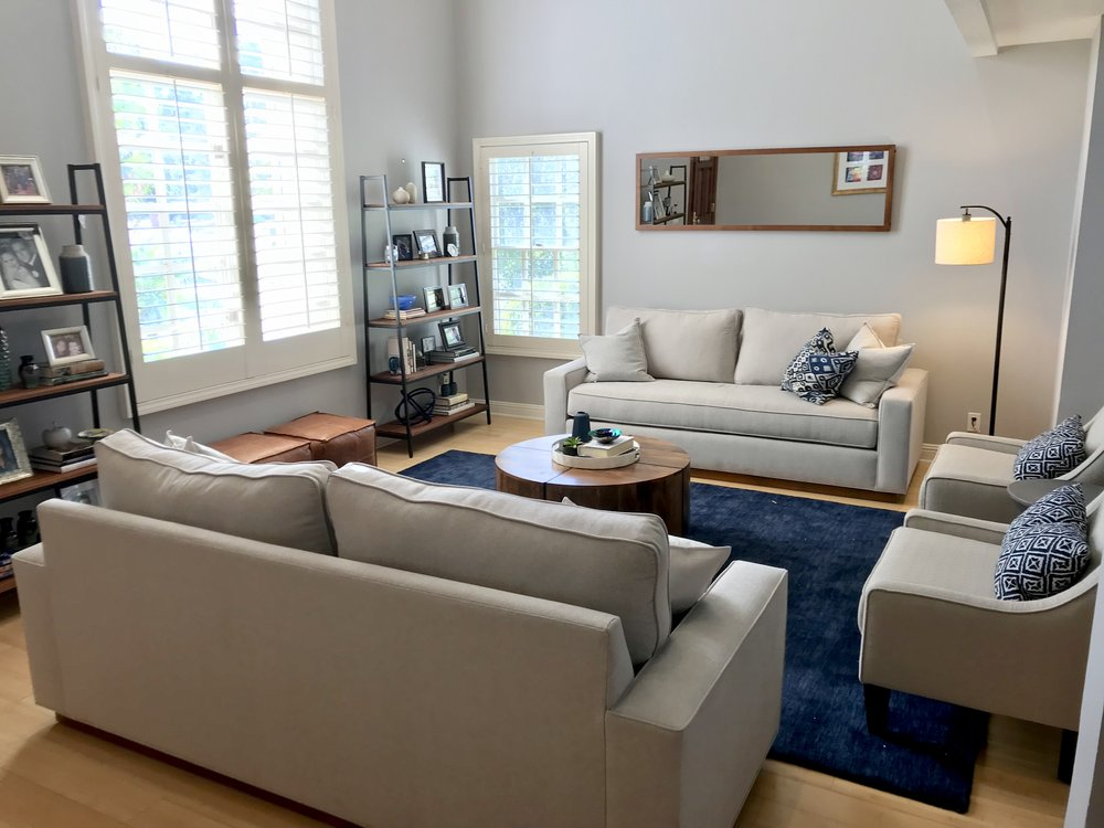After Styled Living Room