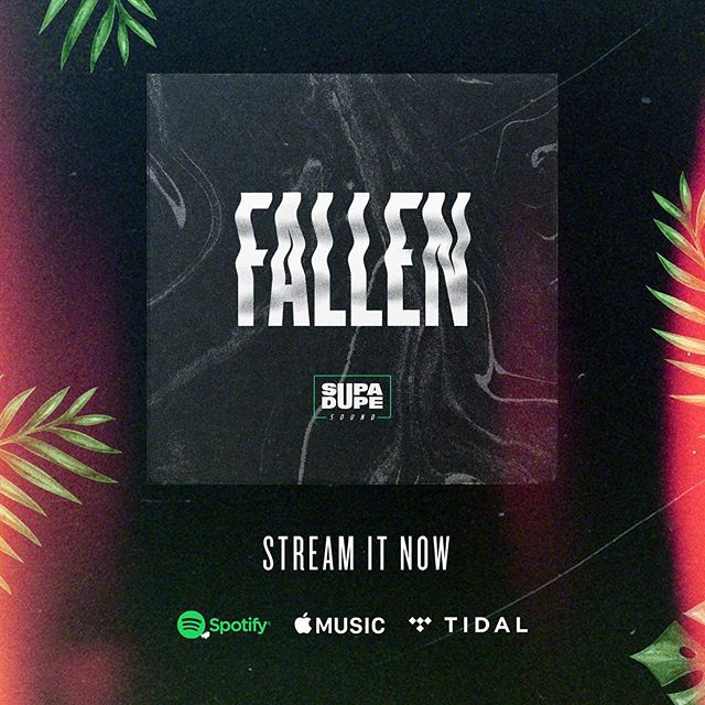🍃 Stream #FALLEN now on @spotify @applemusic @tidal and all major music platforms