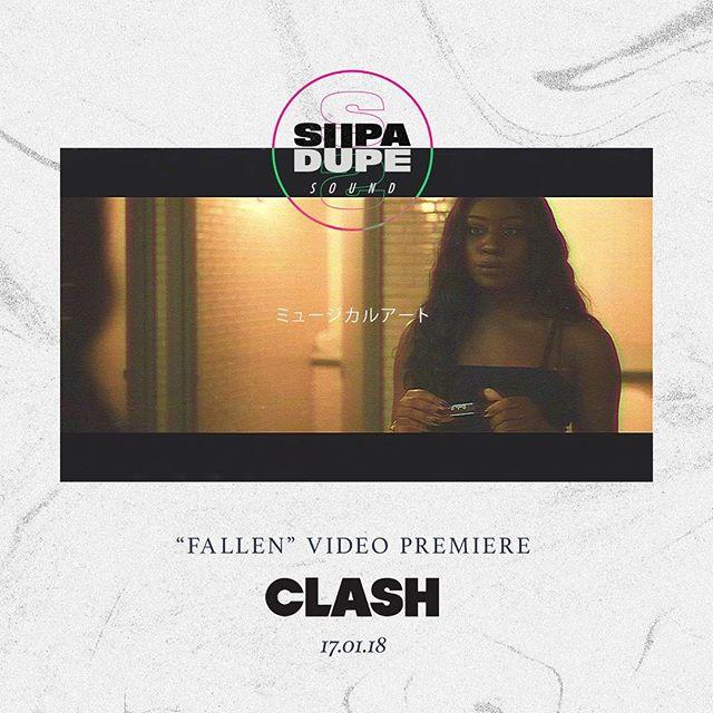 FALLEN • Premiere UP NOW @clashmagazine • Link in bio #Rnb #Uk #UkMusic