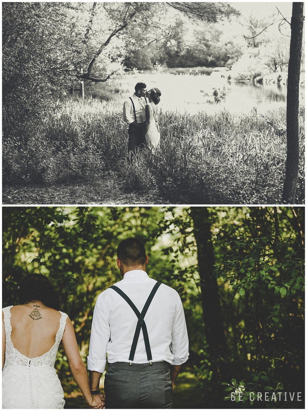 Milwaukee Wedding Idea-nature wedding photo