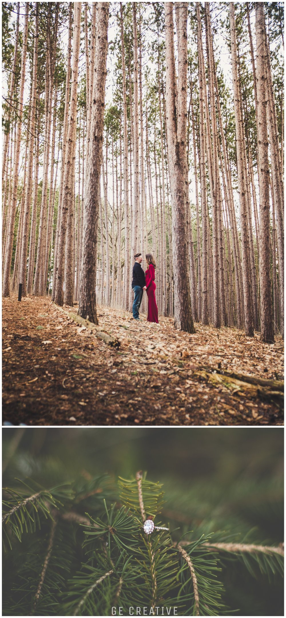Woodland Engagement Photo