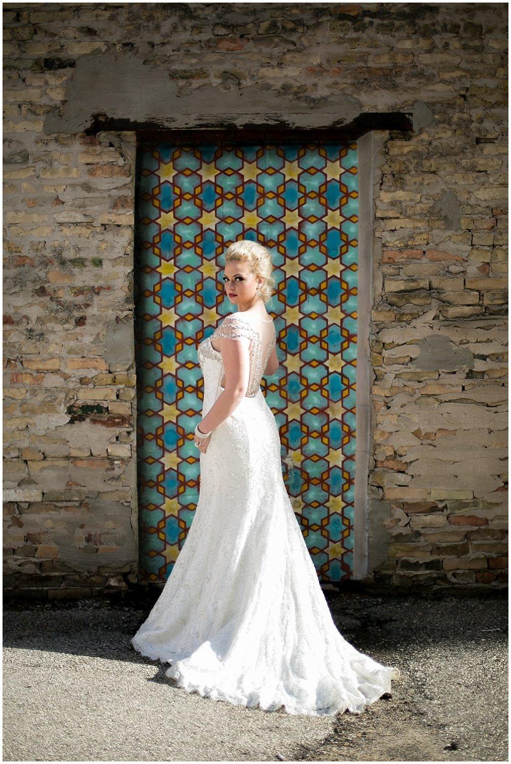 vibrant Bridal Portrait