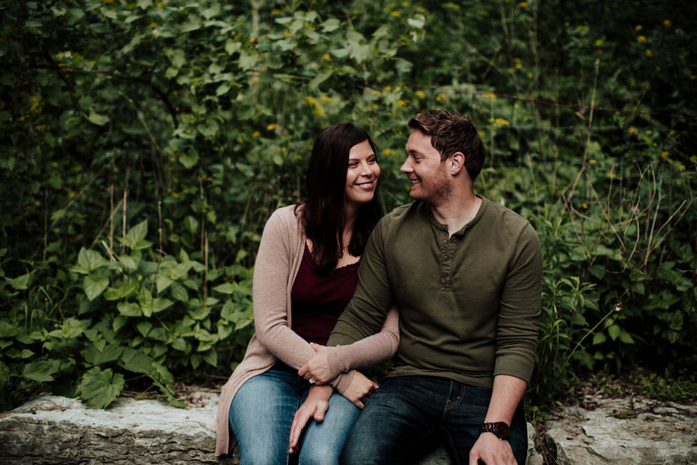 Leigh + Jake - Candid + Authentic Engagement Session