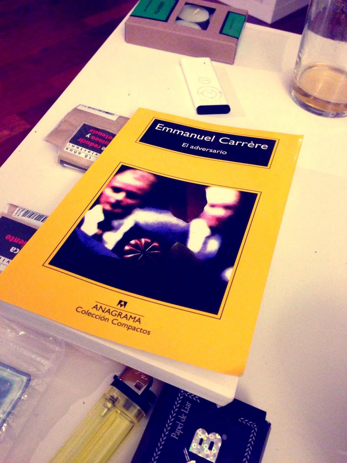 El Adversario. Emmanuel Carrere. Anagrama