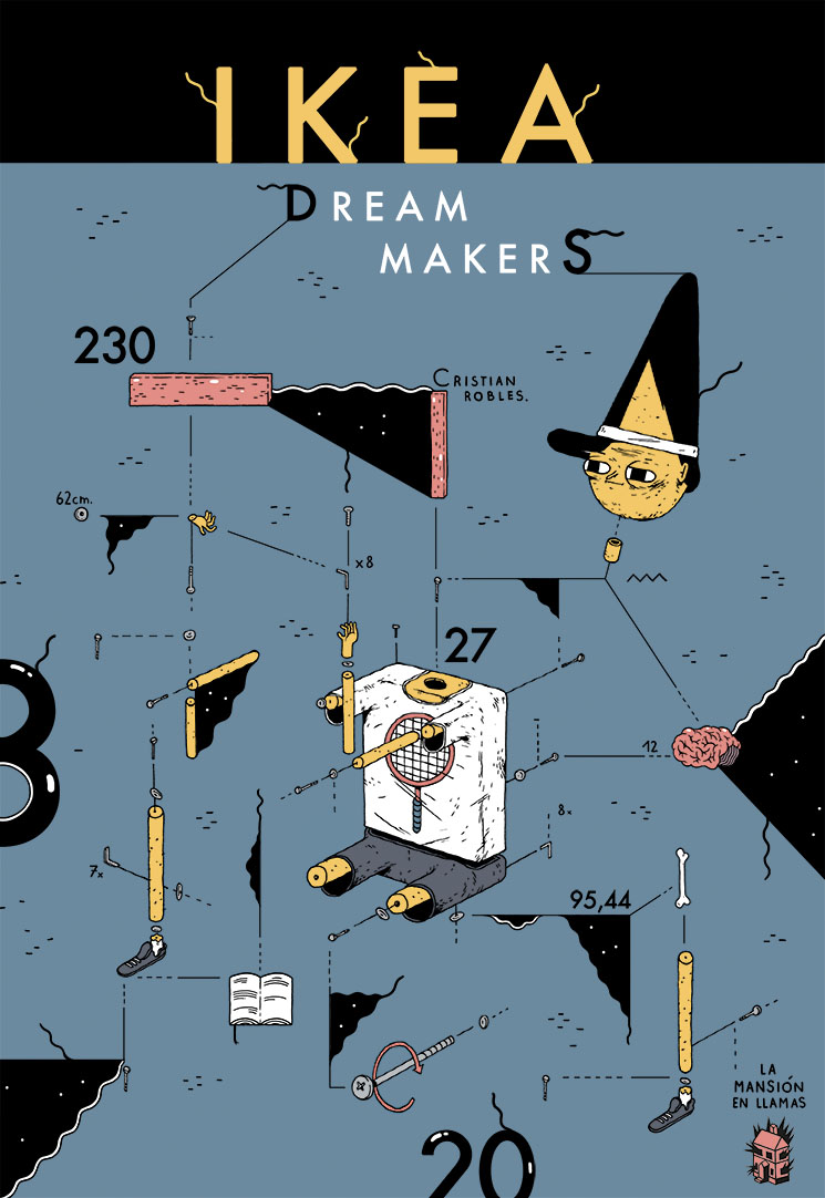 Ikea Dream Makers :: Entrevista al autor