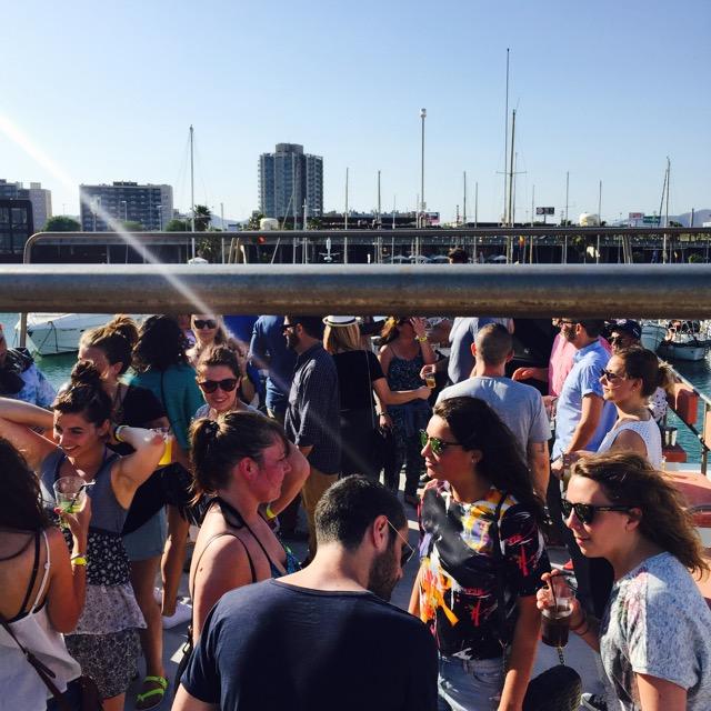 Boat Party b-eat Barcelona * Vanity Dust