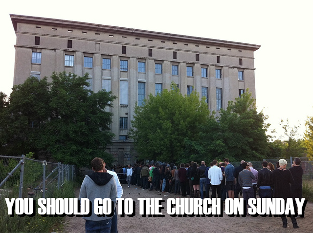 Berghain Meme | Church