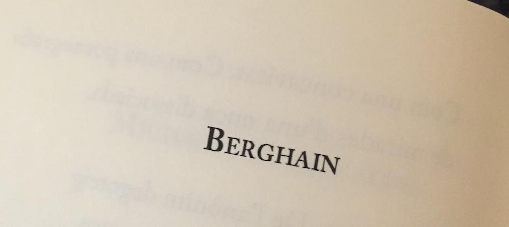 Maria Sevilla | Berghain