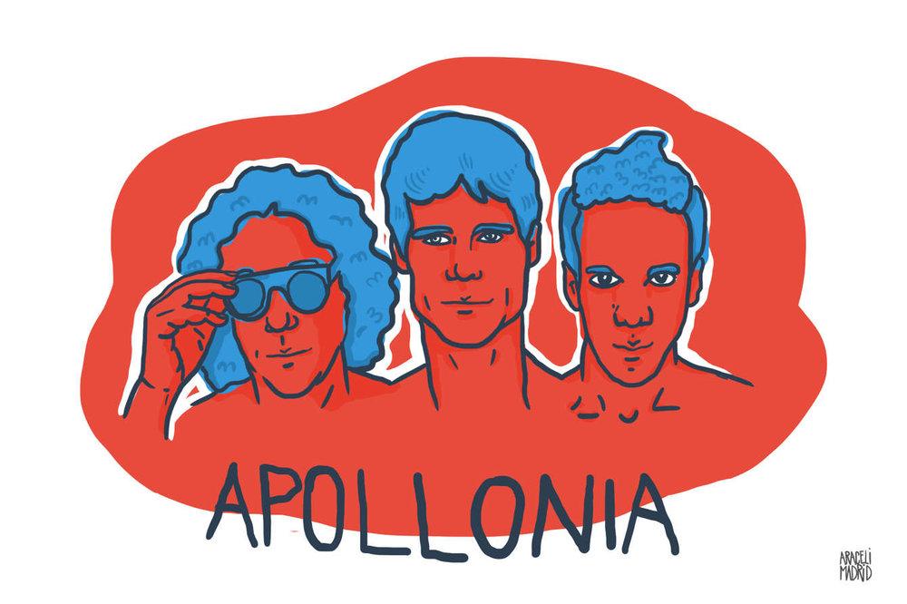 Apollonia Djs Ilustrados