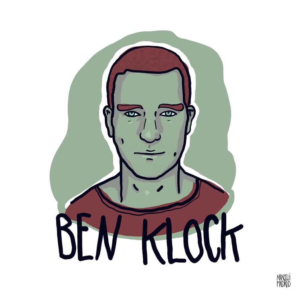 Ben Klock Djs ilustrados