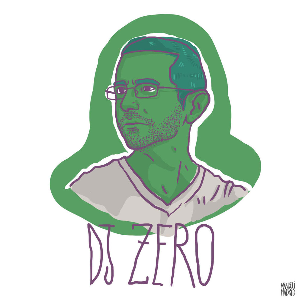 Dj zero Djs ilustrados